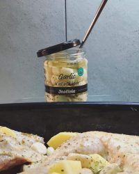"""Time to cook … with Inolivia's """"garlic in oil with herbs"""""""